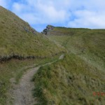 Peak Way über einen Hügel