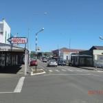 Hauptstraße in Woodville (zugleich Highway)