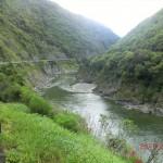 nahe am Abgrund fahren, Manawatu Gorge
