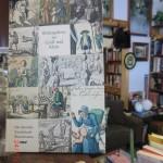 altdeutsche Illustrationen in neuseeländischem Second-Hand-Shop