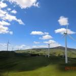 die Windfarm, sieht aus wie gemalt... ist es aber ganz sicher nicht!