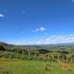 weite Ausblicke, unendliche grüne Hügel