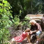 wir nochmal im Wald