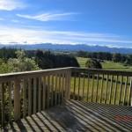 Ausblick von der Terrasse - Wahnsinn!