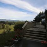 Haus und Terrasse und Ausblick