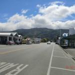 Featherstons Straße in die Berge