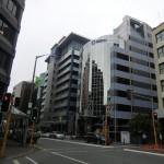 Hauptstadt Wellington, wir erblicken seit Langem wieder große Hochhäuser!