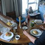 neuseeländisches Freitags-Dinner