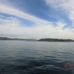tolle Ausblicke: ruhiges Meer, blauer Himmel