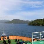 Schiff und Marlborough Sounds