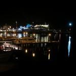nächtliche Hafenromantik