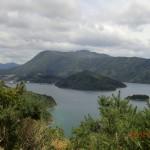 von oben in Richtung Picton geschaut