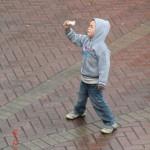 junger Tänzer, cool wie Eis III (gibt immer mehr Gas)