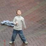 junger Tänzer, cool wie Eis V (nicht mehr zu bremsen)