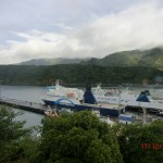 Bluebridge und Interislander - Riesenmeeresgefährten im Hafen