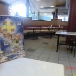 Kalenderausflug 20: wenn es draußen trüb ist, gibt es im McDonalds WiFi for free
