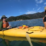 unsere beiden Kayak-Gefährtinnen