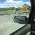 Überflutung und wir fahren durch!