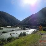 Buller River und seine vielen Ärmchen