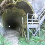 Uaaaah! Eisenbahntunnel! Und durch...