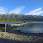 zurück am Steg von Lake Rotoiti