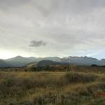 abendliche Lichtspiele über den Kaikoura Ranges