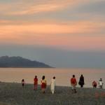 und wieder Abend über Kaikoura
