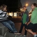 die drei Typen daaaa... Wolfi, Marcus und Manuel