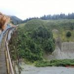 über die Brücke geht's geschwind