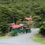 süüüße Hütten vor Arthur's Pass