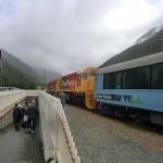 Halt am Arthur's Pass: grauer Himmel im Westen