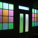 schöne Eingangstürfenster