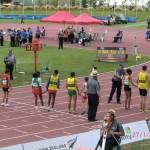 paralympische Leichtathletik WM 2011 Christchurch: Lauf mit Guides