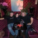 wir drei - Peter, Tini, Wolfi - in der Wunderbar - war wunderbar!