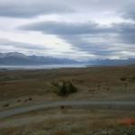 am Lake Pukaki mit Blick auf Mt. Cook
