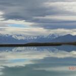 Mt. Cook und Spiegelung im See