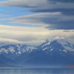 da ist er - der höchste Berg Neuseelands: Mt. Cook
