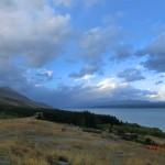 am Lake Pukaki entlang, Richtung Mount Cook