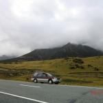 auf der Fahrt zum Mount Cook - zweiter Versuch II (Joy vor Berg)