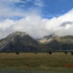 auf der Fahrt zum Mount Cook - zweiter Versuch