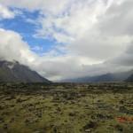 Blick in Richtung des Lake Pukaki