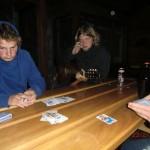 Doppelkopf in der Alpenhuette