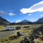 unser Alpenwildnis-Schlafplatz - allein in der Natur