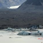dicke Eisschollen und der ugly Gletscher