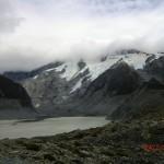 ein Gletschersee am Wegesrand