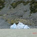 eine einsame, schöne Eisscholle