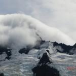 diese Wolke fraß den Gipfel wie eine nimmersatte Raupe :-)