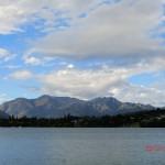 Lake Wanaka und umgebende Berge
