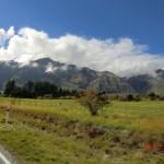 auf der Fahrt zum Rob Roy Gletscher nahe Wanaka