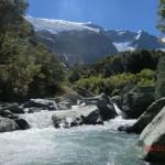 aus der Sicht eines Gletscherflusses